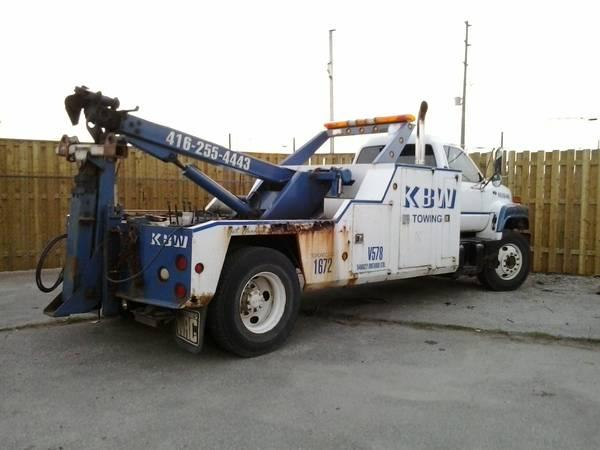 Tow Truck For Sale Canada >> 00 Gmc 8500 Tow Truck 10000 For Sale In Oakville Ontario
