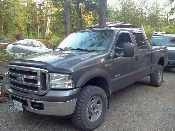 05 F350 Powerstroke Fx4 11500 For Sale In Courtenay