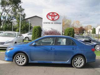 $16,998 2010 Toyota Corolla Sport