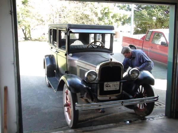 1927 Chevrolet Series AA Capitol Landau - $12500