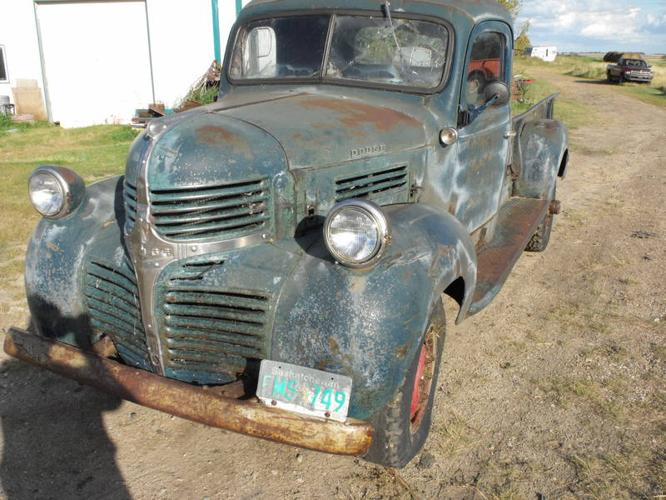1947 dodge other pickups pickup truck for sale in yorkton saskatchewan all cars in. Black Bedroom Furniture Sets. Home Design Ideas