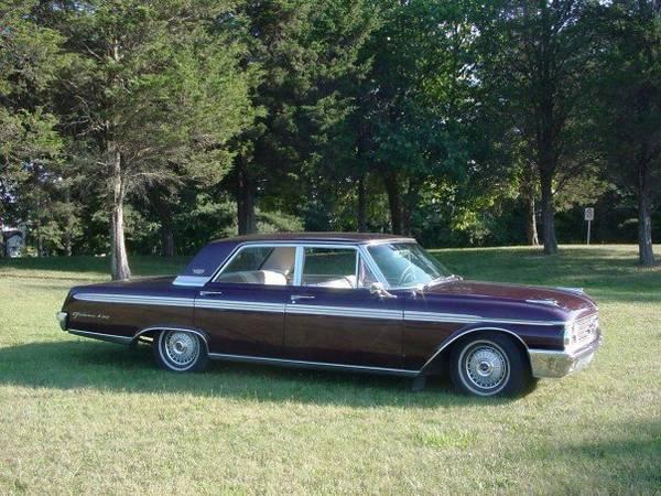 1962 Galaxie 500 - $4500