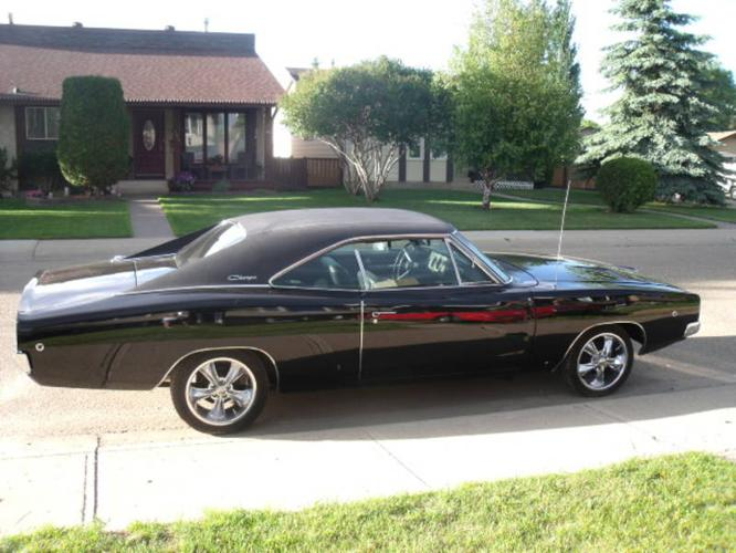1968 Dodge Charger BLACK Coupe