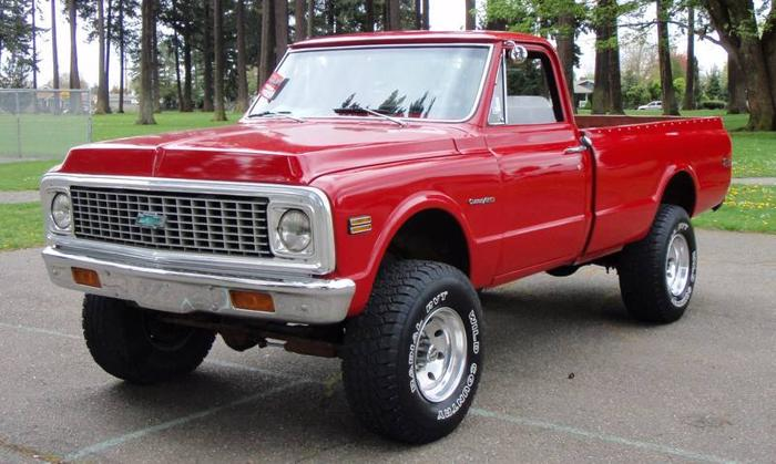 1972 Chevy Truck 4x4 Craigslist | Autos Post