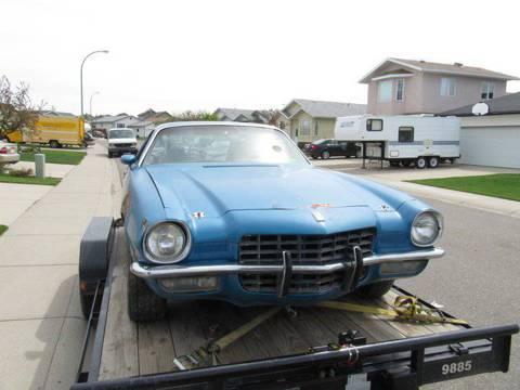 1972 Chevrolet Camaro Ss for $3,500