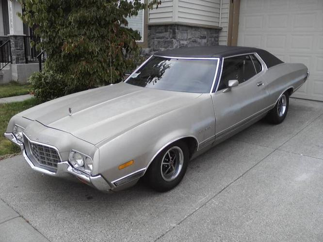 1972 ford torino gran torino coupe 351 cleavland for sale in surrey british columbia all cars. Black Bedroom Furniture Sets. Home Design Ideas