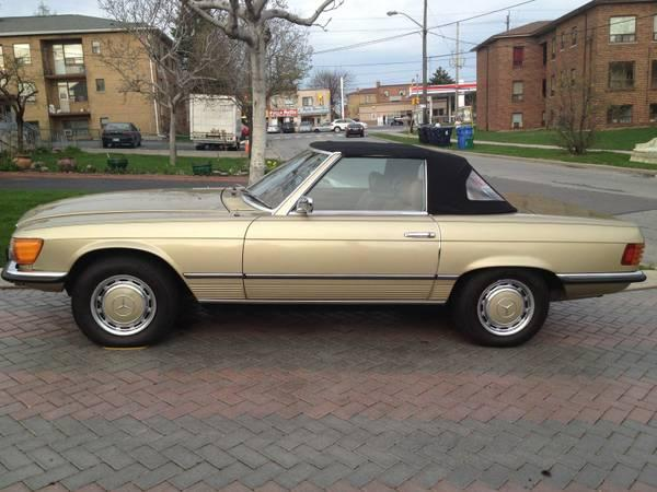 1972 mercedes benz 350 sl convertible 18000 for sale in for Mercedes benz for sale ontario