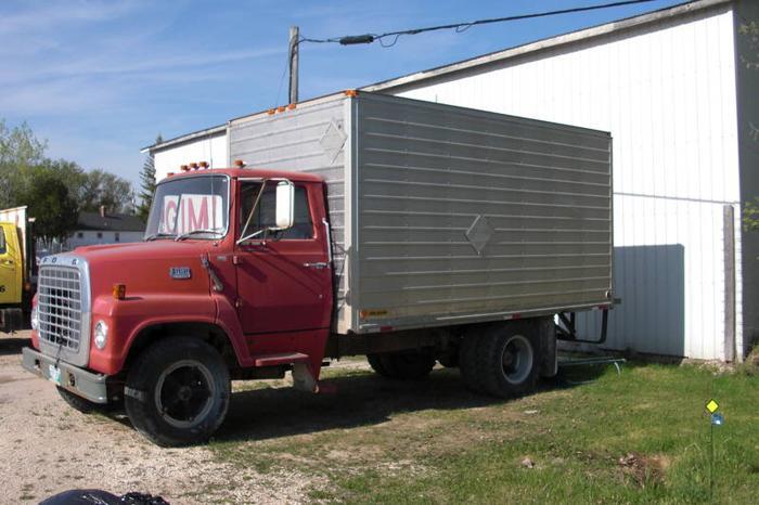 1974 Ford Van Body 2 ton Truck