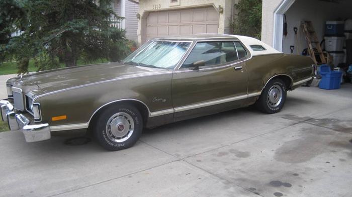 1974 Mercury Cougar Coupe