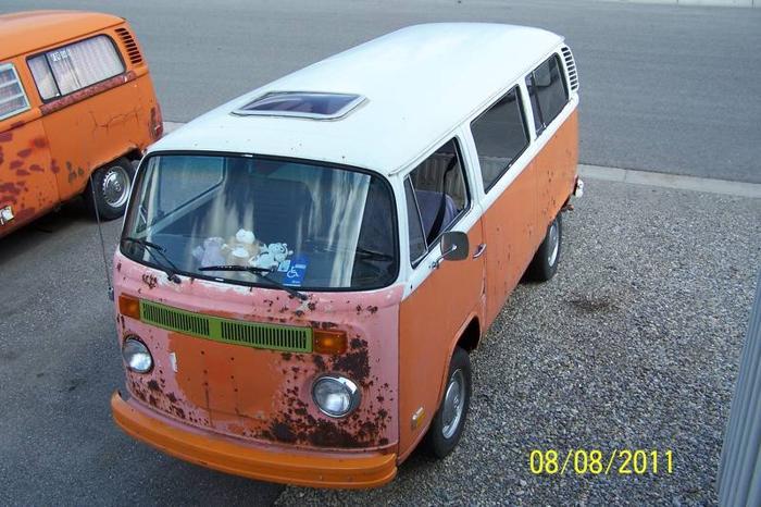 1974 Volkswagen Bus/Vanagon Minivan