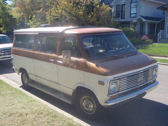 1975 Chevrolet Camper Van Anita Beauville Conversion