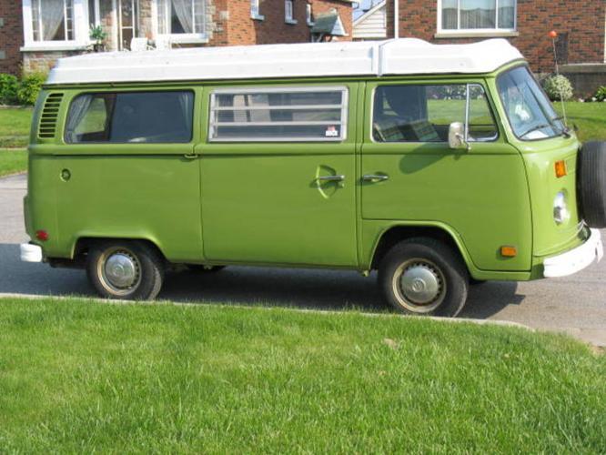 1977 volkswagen bus westfalia lovily pop up camper classic for