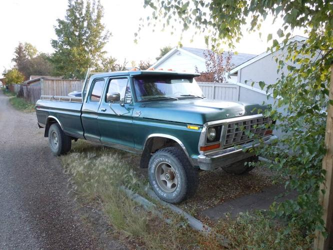 1978 ford f 250 custom pickup truck for sale in fairview alberta all cars in. Black Bedroom Furniture Sets. Home Design Ideas
