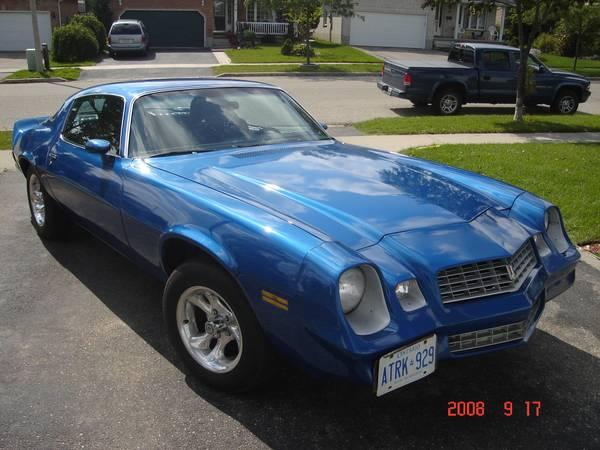 1979 Camaro 4000 For Sale In Kitchener Ontario All