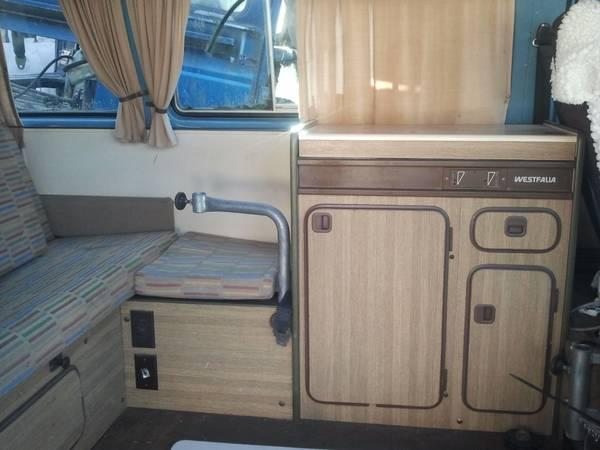 1980 vw westfalia interior 600 for sale in richmond british columbia all cars in. Black Bedroom Furniture Sets. Home Design Ideas