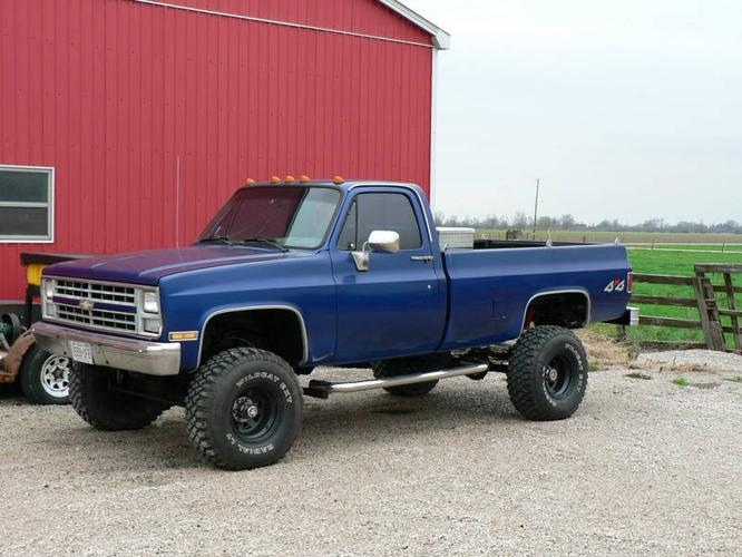 1982 Chevrolet Pickup Truck 4x4 For Sale In Wallaceburg Ontario