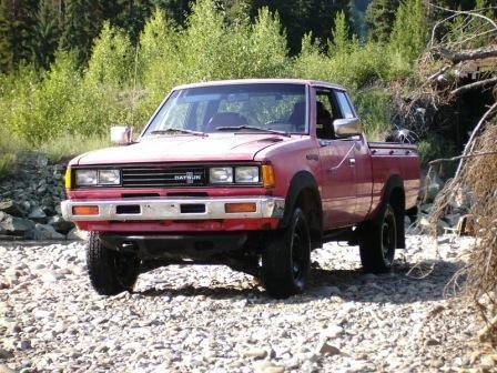 1982 datsun nissan 720 king cab 4x4 pick up truck 2600 for sale in abbotsford british. Black Bedroom Furniture Sets. Home Design Ideas