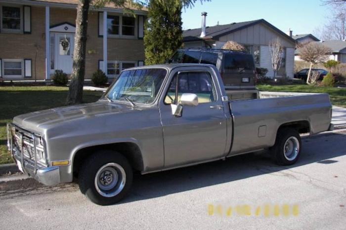1983 chevrolet c k pickup 1500 silverado pickup truck for sale in london ontario all cars in. Black Bedroom Furniture Sets. Home Design Ideas