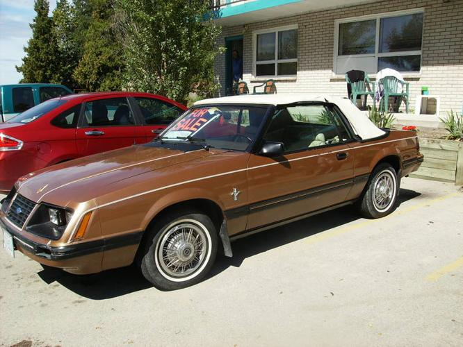 1983 Ford Mustang Glx Convertible For Sale In Wasaga Beach