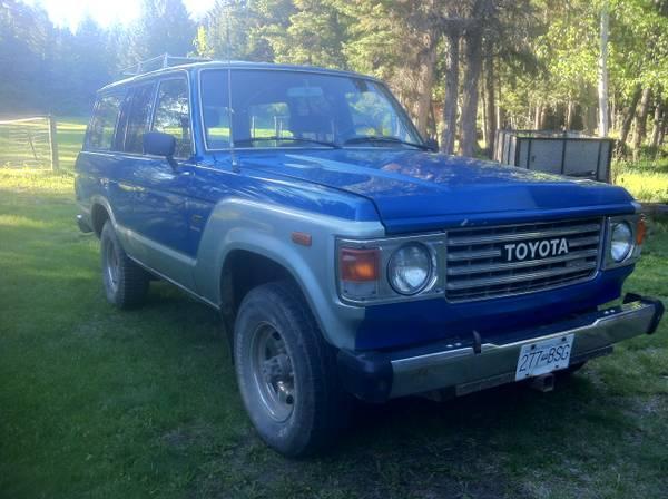 1983 Toyota BJ60 Landcruiser Diesel 4WD - CAD6500