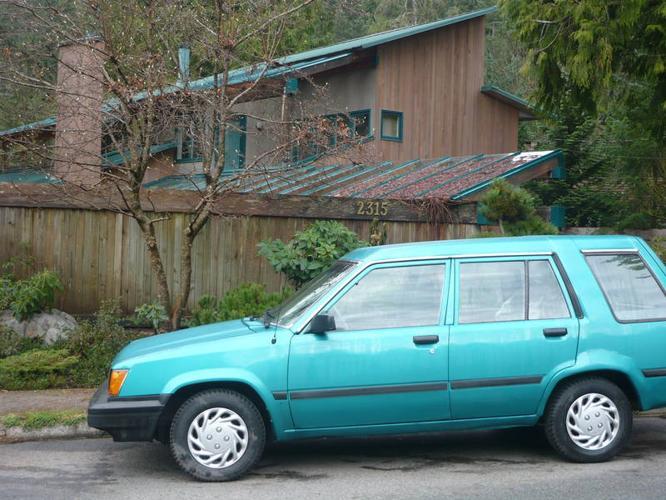 1984 Toyota Tercel Wagon 4 wheel drive