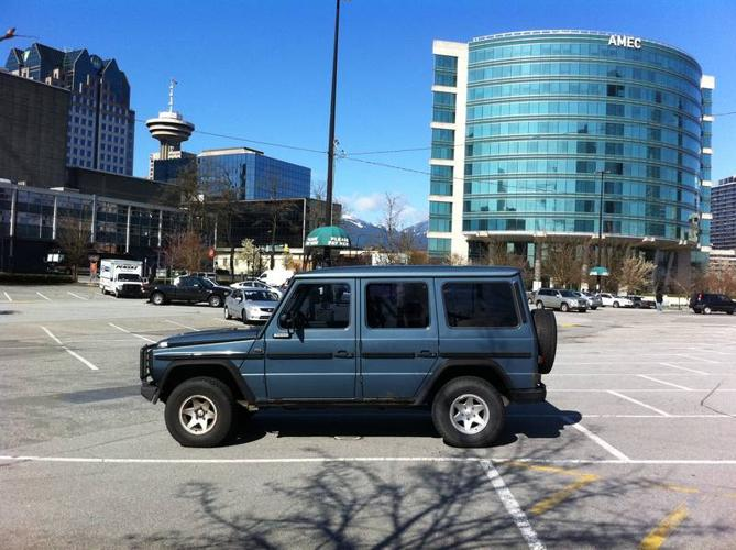 1986 mercedes benz g wagon 280 ge for sale in north for Mercedes benz north vancouver