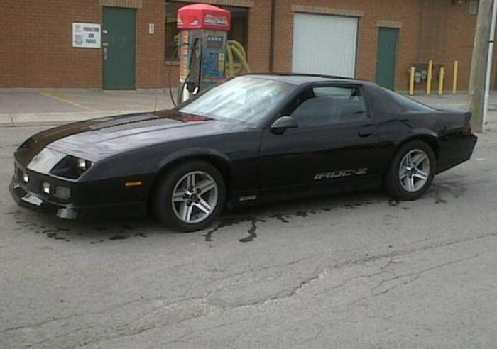 1987 Chevrolet Camaro Iroc Z Coupe For Sale In Lively