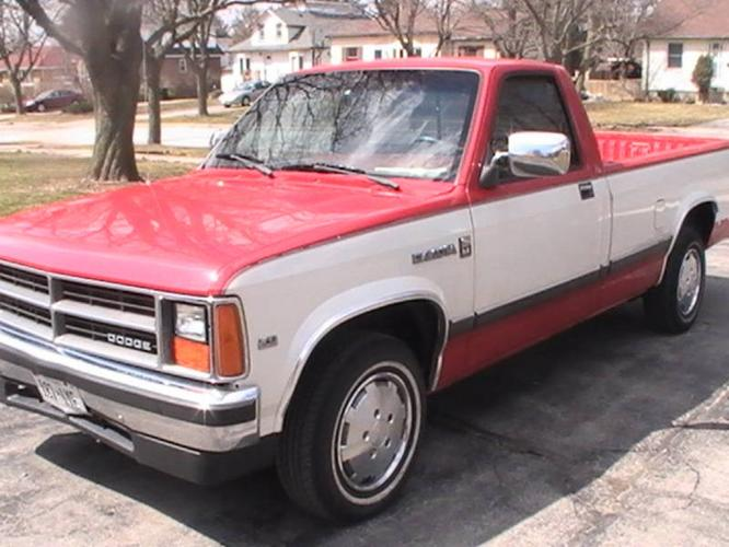 1987 dodge dakota texas pickup truck for sale in london. Black Bedroom Furniture Sets. Home Design Ideas