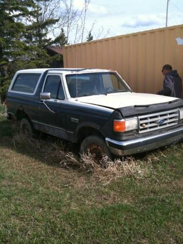 1987 Ford Bronco SUV for sale in Spirit River, Alberta ...