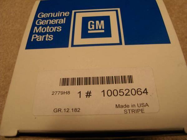 1987 Monte Carlo SS Original GM Stickers and Emblems Stripes - $650