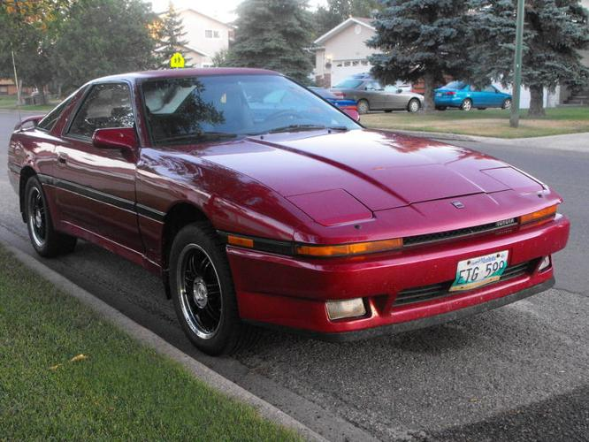 1987 toyota supra coupe for sale in brandon manitoba all cars in. Black Bedroom Furniture Sets. Home Design Ideas