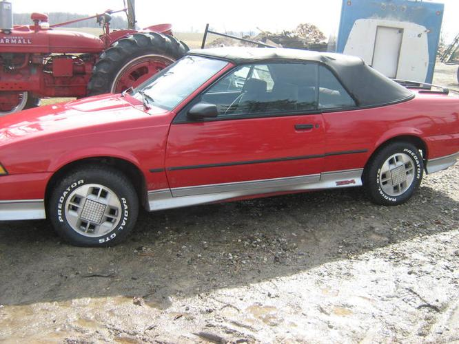 1988 Chevrolet Cavalier Convertible for sale in Norwich