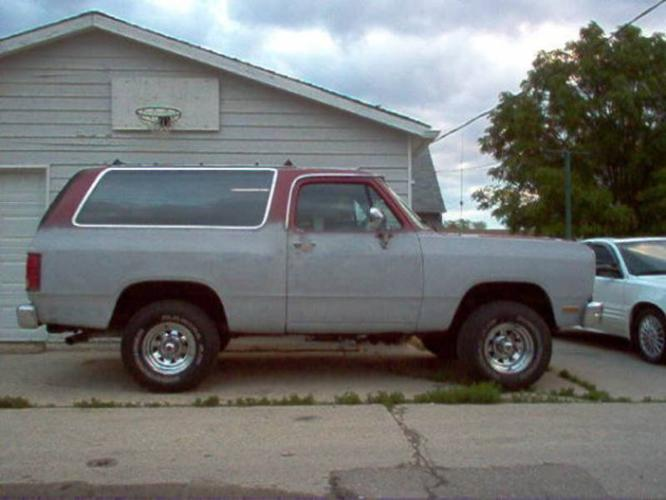 Dodge Ramcharger X Le on 1988 Dodge Dakota Le 4x4
