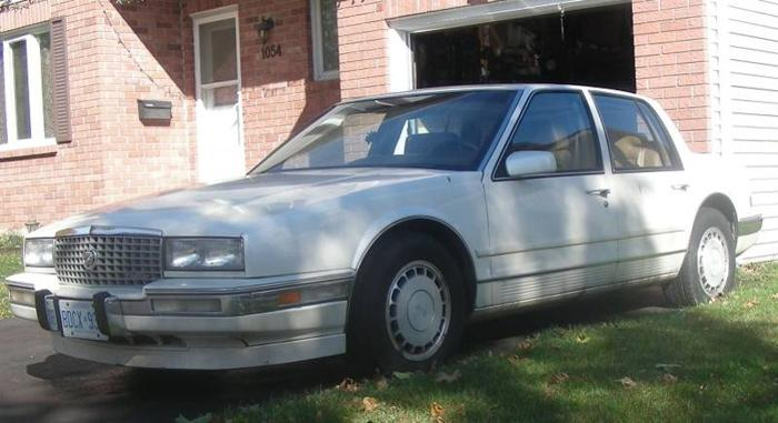 1989 Cadillac STS Sedan