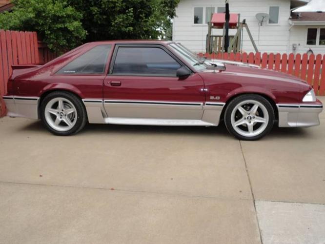 1989 Ford Mustang GT Hatchback for sale in Red Deer ...