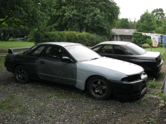 1989 Nissan Skyline GTR R32 Right Hand Drive + Parts Car for sale in ...
