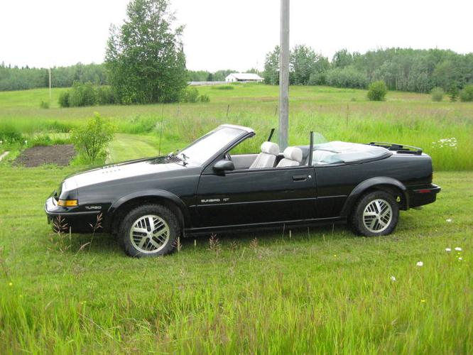 1989 Pontiac Sunbird Gt Turbo Convertible For Sale In Quesnel British Columbia All Cars In