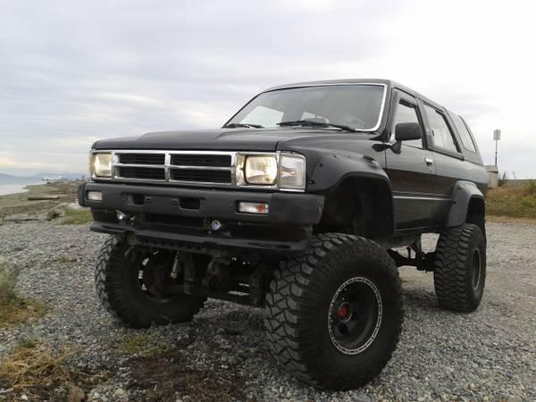 1989 toyota 4runner 22re 9500 for sale in white rock british columbia all cars in. Black Bedroom Furniture Sets. Home Design Ideas