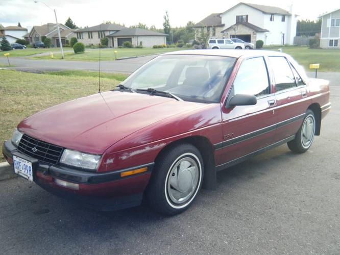 1990 Chevrolet Corsica Lt Sedan For Sale In Thunder Bay