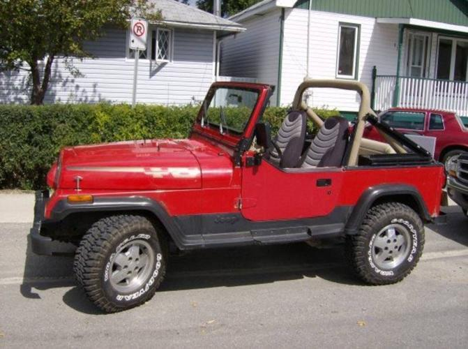 1990 jeep wrangler convertible for sale in timmins ontario all cars in. Black Bedroom Furniture Sets. Home Design Ideas
