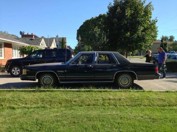 1990 Mercury Grand Marquis - $2500