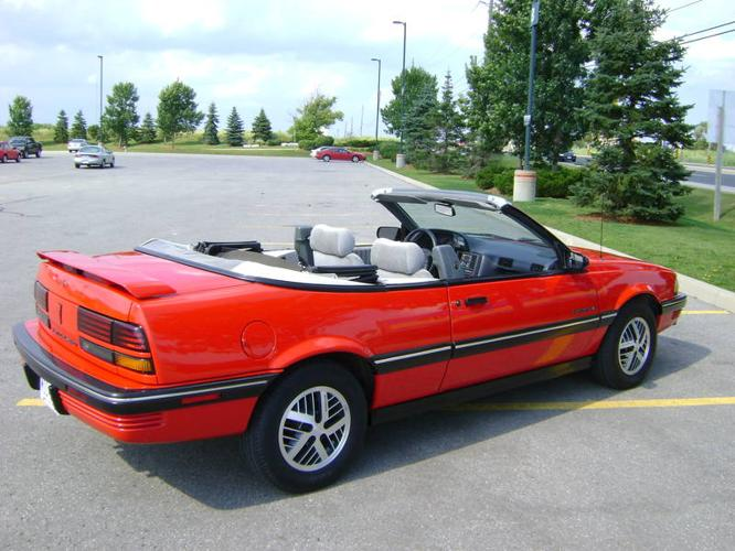 1990 Pontiac Sunbird Convertible Convertible For Sale In