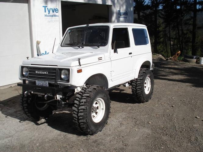 1990 Suzuki Samurai for sale in Merritt, British Columbia ...