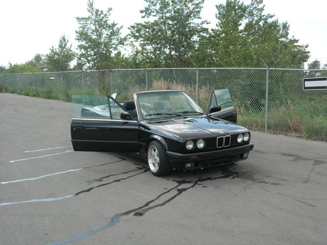 1991 bmw 325i convertible performance enhanced for sale in calgary alberta all cars in. Black Bedroom Furniture Sets. Home Design Ideas