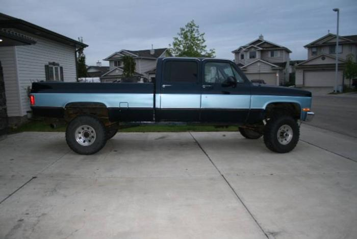 Craigslist Houston Tx Gmc Parts For Pinterest: 1991 GMC Crewcab 3500 Pickup Truck In Fort McMurray, Alberta