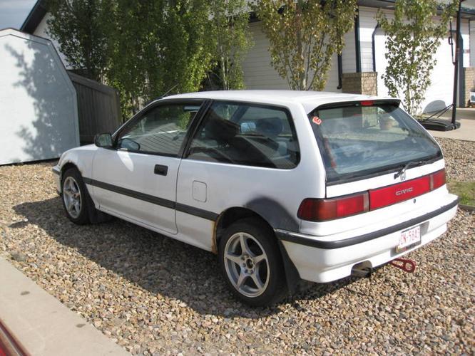 1991 Honda Civic Dx Hatchback Parts