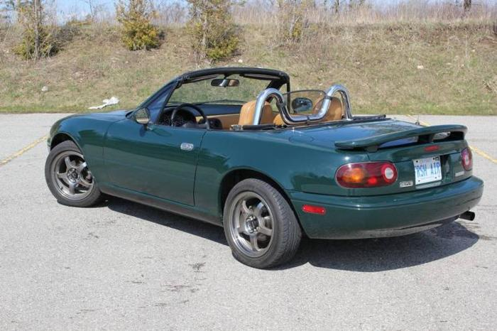 1991 mazda mx 5 miata special edition convertible for sale in guelph ontario all cars in. Black Bedroom Furniture Sets. Home Design Ideas