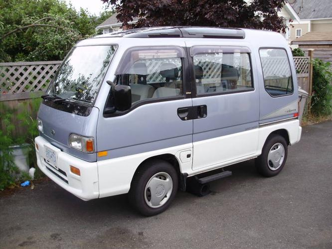 1991 Subaru Sambar For Sale In Victoria British Columbia