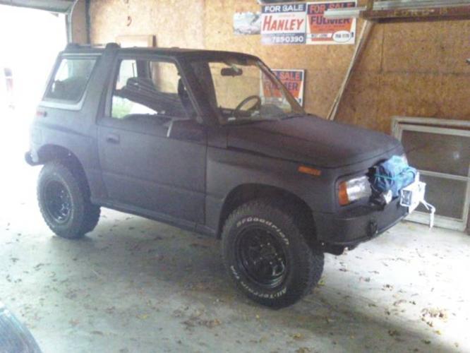 1991 Suzuki Sidekick 4x4 SOLD