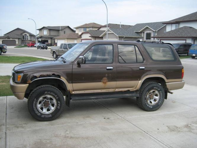 1991 toyota 4runner suv for sale in red deer alberta all cars in. Black Bedroom Furniture Sets. Home Design Ideas
